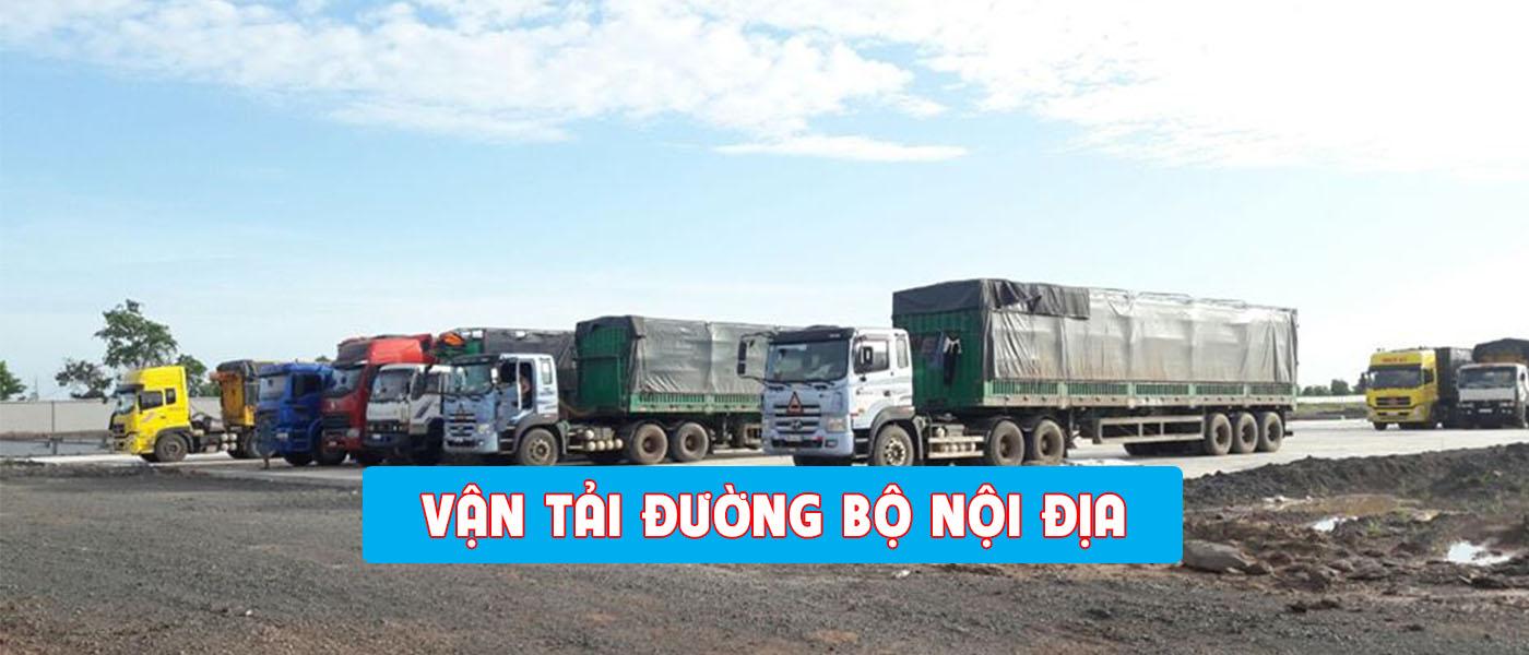 vận chuyển hàng hóa nội địa